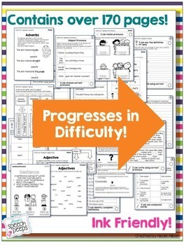 Leveled Intervention for Grammar {Printed Edition}