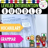 Leveled Intervention Bundle for Grammar and Vocabulary