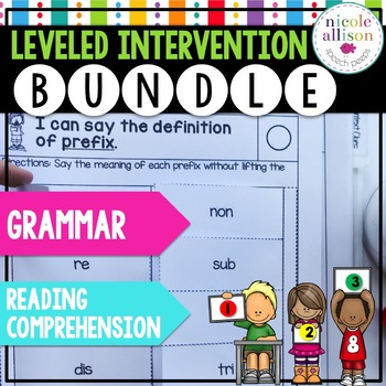 Leveled Intervention Bundle for Reading Comprehension and Grammar