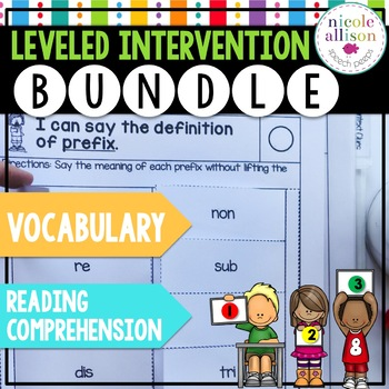 Leveled Intervention Bundle for Reading Comprehension and Vocabulary