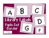 Leveled Labels - Boxes & Books Purple Dot