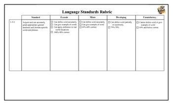 Leveled Learning Target L 8.6