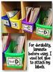 Watercolor Leveled Library Book Bin Labels