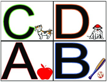 Leveled Library Book Bin Labels (Levels A-P)