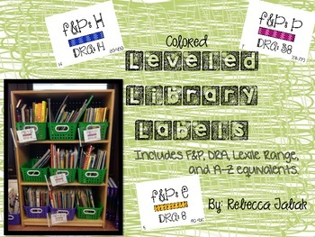 Leveled Library Labels