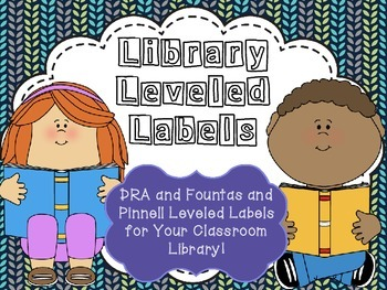 Leveled Library Labels!