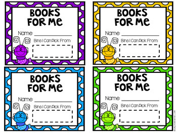 READ Leveled Library Labels