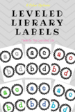 Leveled Library Labels (6 color options)