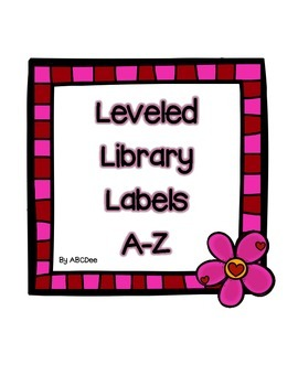 Leveled Library Labels A-Z