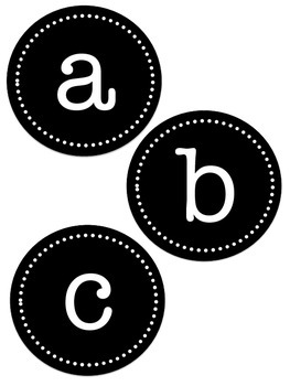 Leveled Library Labels (A-Z upper and lower case)