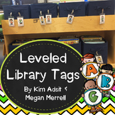 Leveled Library Labels - Freebee