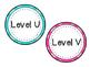 Leveled Library Labels Polka Dot Theme