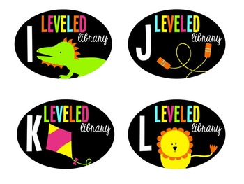 Leveled Library Labels (Consistent Colors)