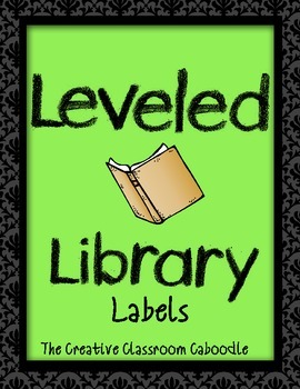 Leveled Library Labels with Butterflies