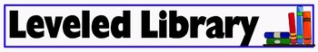 Leveled Library Sign