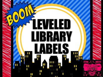 Leveled Library: Super Heroes