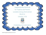 Leveled Literacy Intervention(BLUE) Supplementary Kit Less