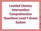 LLI Multiple Choice Comprehension Assessment Level F Green System Sample