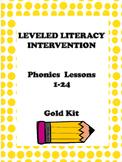 Leveled Literacy Intervention Gold Kit Phonics