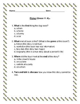Leveled Literacy Intervention Green System 11-20