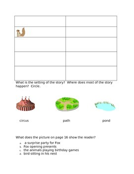 Leveled Literacy Intervention-Green Level E & 14 comprehension pgs