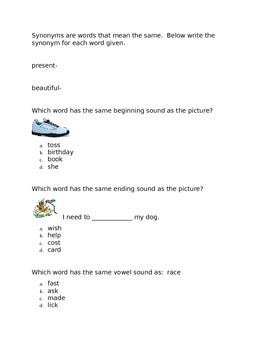 Leveled Literacy Intervention-Green Level G and 19 comprehension pages