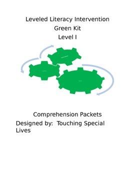 Leveled Literacy Intervention-Green Level I & 19 comprehen
