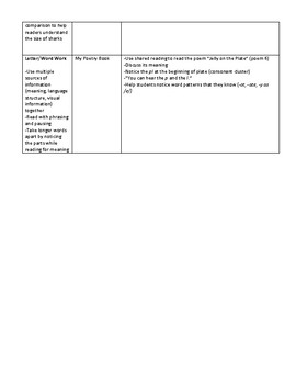 Leveled Literacy Intervention (LLI) Aligned Lesson Plans -- Blue Kit, Level F