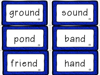Leveled Literacy Intervention (LLI): Blue Level K Anchor Charts and Word Cards