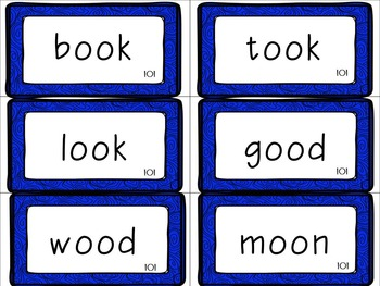 Leveled Literacy Intervention (LLI): Blue Level M: Anchor Charts & Word Cards