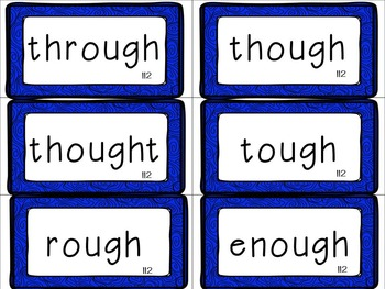 Leveled Literacy Intervention (LLI): Blue Level N Anchor Charts and Word Cards
