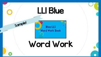 Leveled Literacy Intervention (LLI) Blue System Lesson 42- SAMPLE