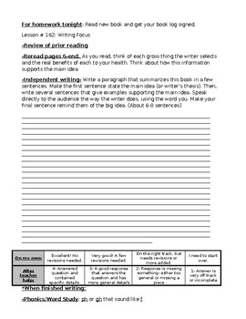 Leveled Literacy Intervention LLI Gold Kit- Level T Editable Student workbook