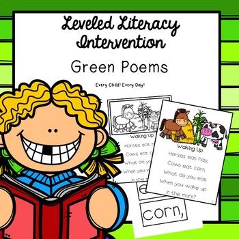 Leveled Literacy Intervention (LLI): Green Level Poems