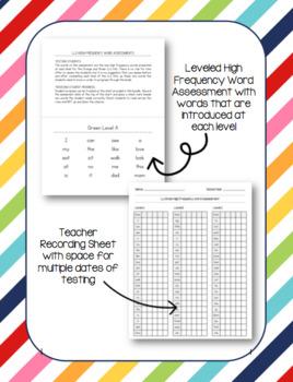 Leveled Literacy Intervention (LLI) Orange & Green High Frequency Word Bundle