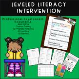 Leveled Literacy Intervention (LLI) Professional Development Bundle