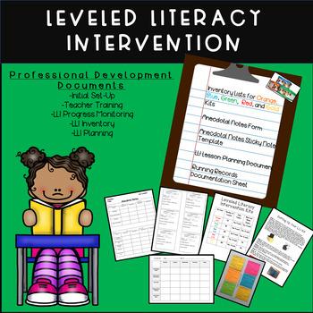 Leveled Literacy Intervention (LLI) Professional Developme
