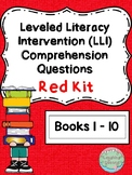 Leveled Literacy Intervention (LLI Red) Comprehension Ques