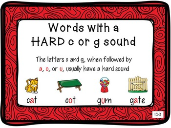 Leveled Literacy Intervention (LLI):  Red Level P: Anchor Charts & Word Cards