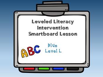 Leveled Literacy Intervention LLI Smartboard Activities Blue Level L