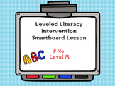 Leveled Literacy Intervention LLI Smartboard Activities Blue Level M 1st Edition