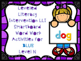 Leveled Literacy Intervention LLI Smartboard Activities Blue Level N 1st Edition