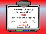 Leveled Literacy Intervention LLI Smartboard Red Level L Vol.2 Lessons 11-24
