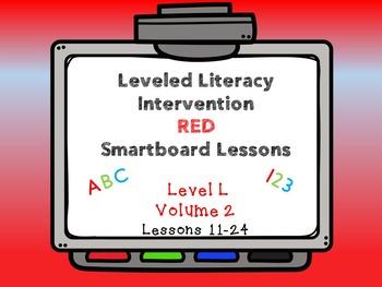 Leveled Literacy Intervention LLI Smartboard Red Level L V