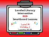 Leveled Literacy Intervention LLI Smartboard Red Level M Vol.1 Lessons 33-44