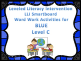 Leveled Literacy Intervention LLI Smartboard Activities Blue Level C 1st Edition