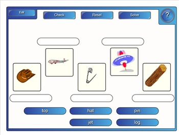Leveled Literacy Intervention LLI Smartboard Activities Blue Level G