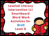 Leveled Literacy Intervention LLI Smartboard Activities Blue Level G 1st Edition