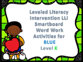 Leveled Literacy Intervention LLI Smartboard Activities Blue Level K 1st Edition