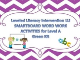 Leveled Literacy Intervention Smartboard Activities Green Level B 1st Edition